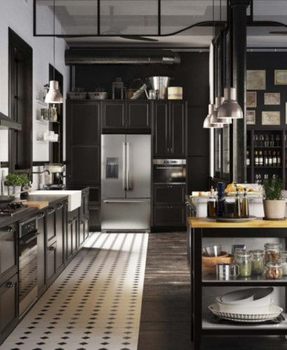 Die besten 25+ Ikea braunschweig Ideen auf Pinterest Craft room - ikea kuche schwarz weiss