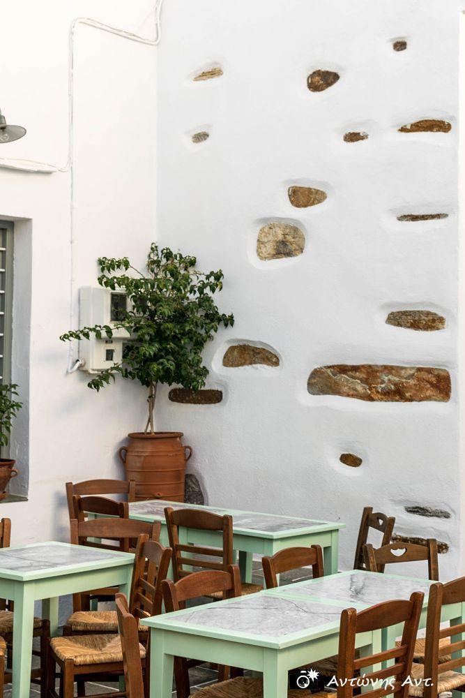 Coffee shop in Sifnos, Greece