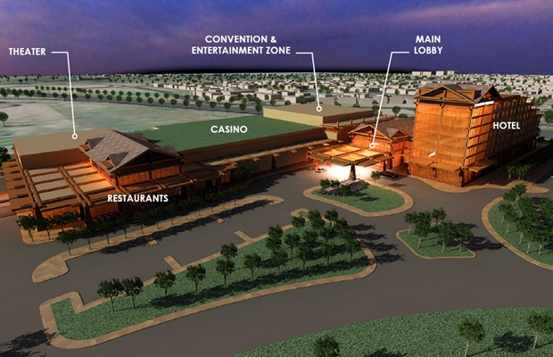 A proposed casino and entertainment complex in South Surrey has dominated headlines - and will likely continue to do so well into the New Year.