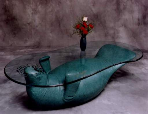 um, who wouldn't want a manatee coffee table??