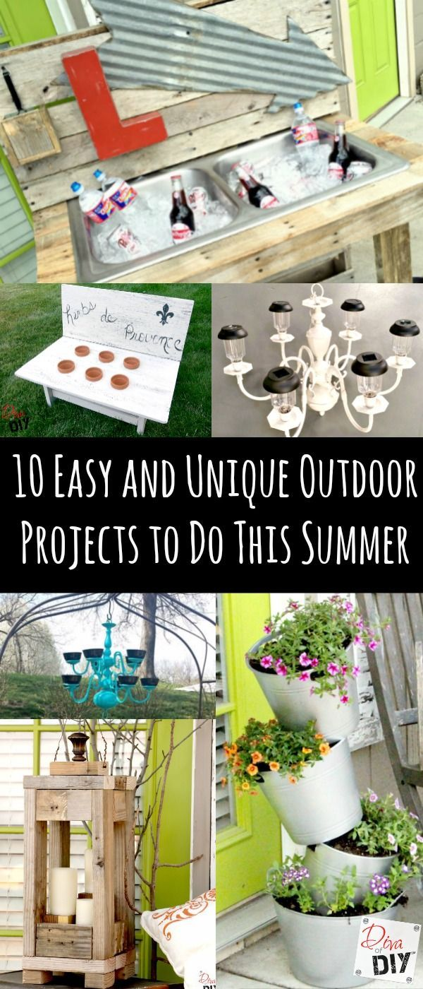 10 unique and creative diy garden path ideas diy cozy home - 10 Easy And Unique Outdoor Projects To Do This Summer