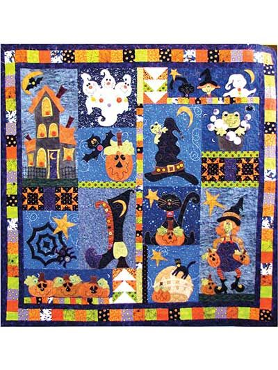 Boo Hallow Quilt Pattern Pack- one of the cutest I've seen for Halloween.
