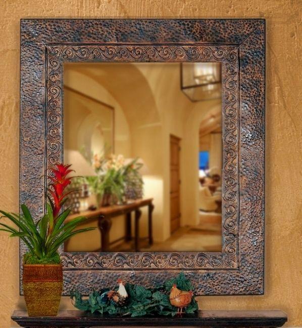 BellaSoleil.com - Rustico Mediterranean Mirror, $206.80 (http://www.bellasoleil.com/rustico-mediterranean-mirror/)
