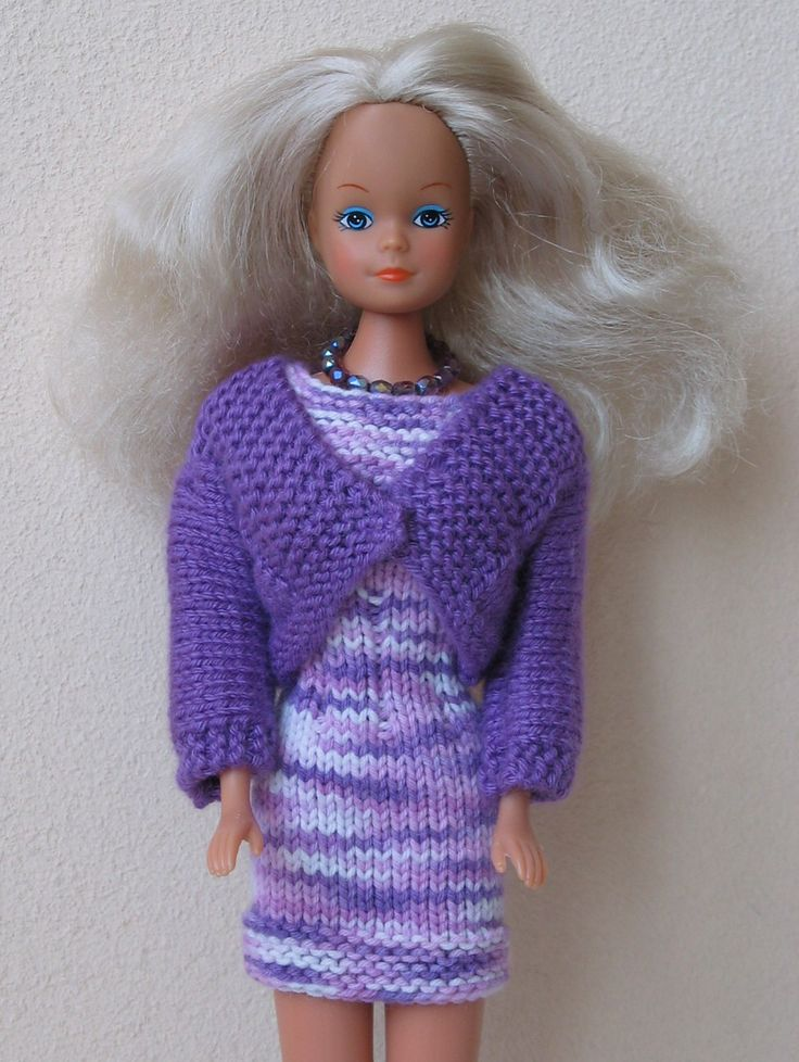 Free Knitting Patterns For Barbie Dolls : 231 best Barbie images on Pinterest