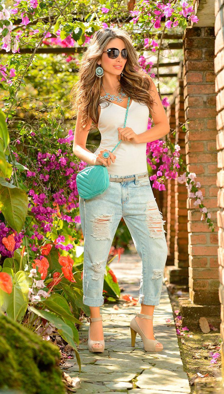 #CarmelModa #Estilo #Moda #BoyfriendJean