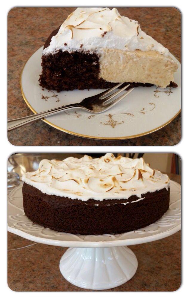 Caramel-mouse-cake