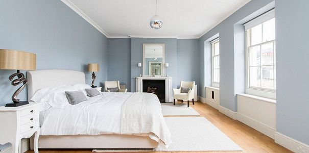 25 beste idee n over blauwe slaapkamers op pinterest - Kleur voor de slaapkamer van de meid ...