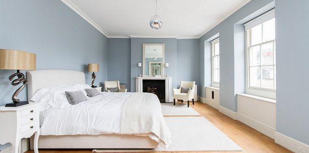 25 beste idee n over blauwe slaapkamer kleuren op pinterest - Kleuren die zich vermengen met de blauwe ...