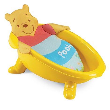 Winnie The Pooh Bath Tub W Infant Sling 14 99 Pamela