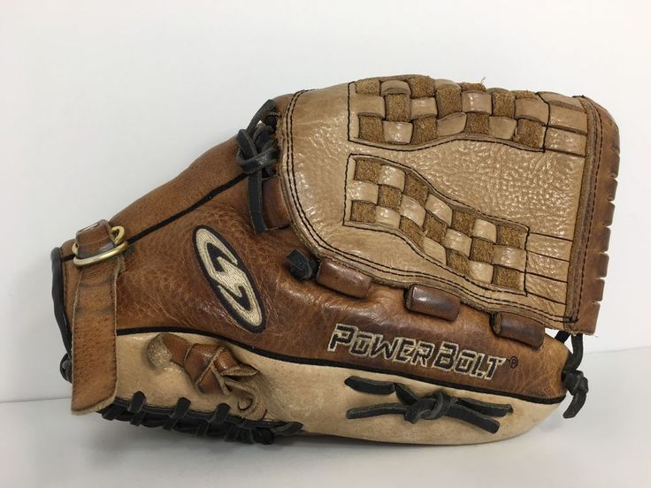 "Power Bolt Onslaught baseball/Softball Leather glove D125N 12"" Glove RHT  | eBay"