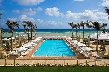 Hilton Rose Hall Resort & Spa. It's just a Hilton. I'm sure there are better deals and more eclectic places to stay. Ok to keep it in the KeepAnEyeOn category.  If we go to Jamaica.