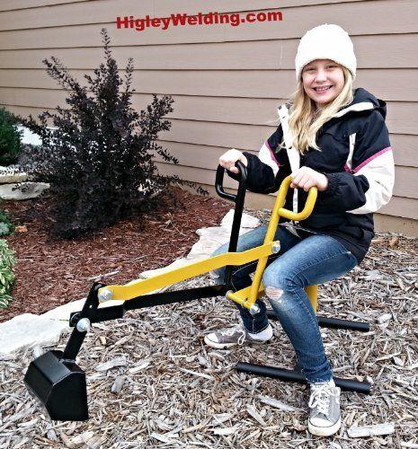 Ride on Playground Sandbox Digger Backhoe Sand Excavator ...