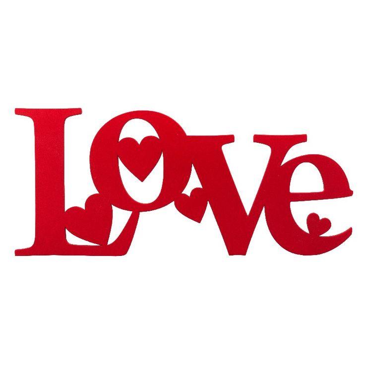 Ornamento Parede Love Hearts