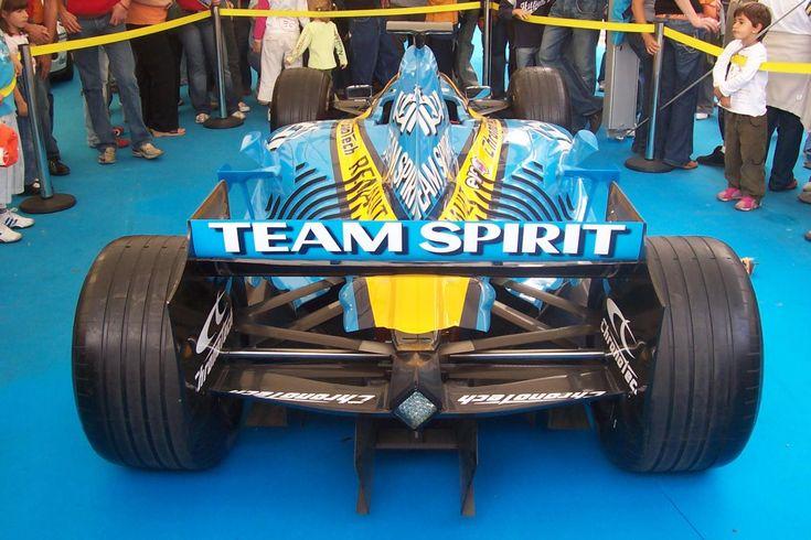 Renault R25 (2005) Shark Gills