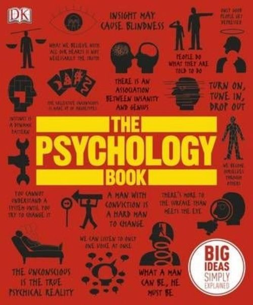 The Psychology Book by Dk Hardcover Book (English)
