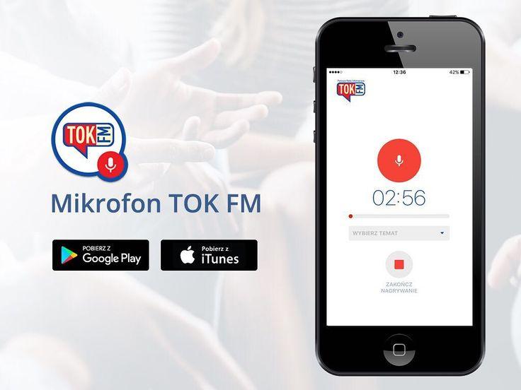 Komentujcie aktualne tematy i informujcie reporterów o ważnych wydarzeniach. To łatwe z nową apką. Jest tu: tokfm.pl/mikrofon #TOKFM #głos #twój #komentarze #pobierz #radio #news #informacje #nagraj #apka #aplikacja #app #mikrofon #TOKFM