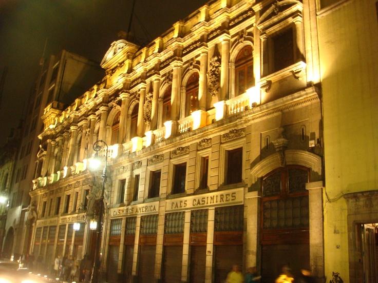 Casimires América, Centro Histórico de la Cd. de México