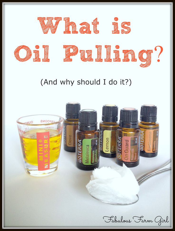 What is Oil Pulling by FabulousFarmGirl.  Ancient method used to clean and detoxify your mouth and gums. Whitens teeth too!