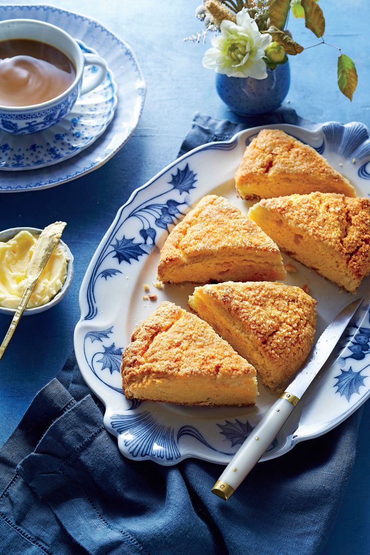 These pillow soft treats are studded with chunks of candied ginger. Sweet Potato-Ginger Scones - Southern Living
