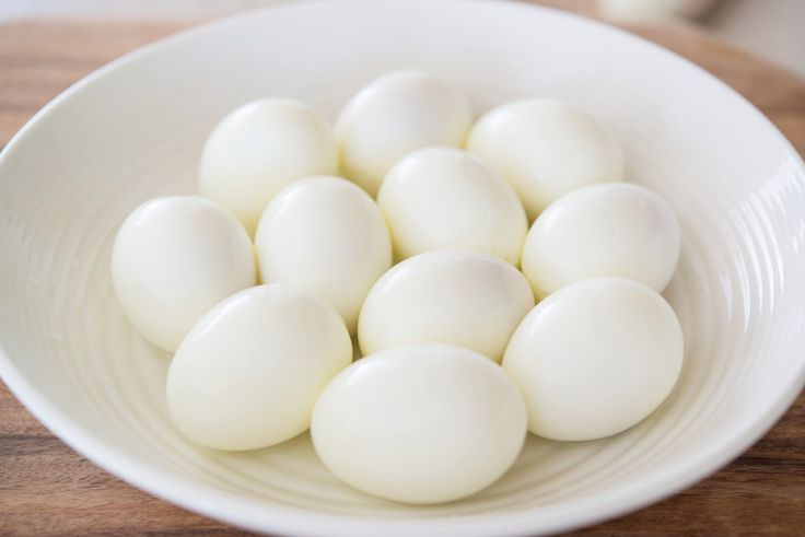 Perfect Easy-to-Peel Hard-boiled Eggs
