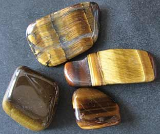 Tiger's eye supports the soul and gives it a sense of security.