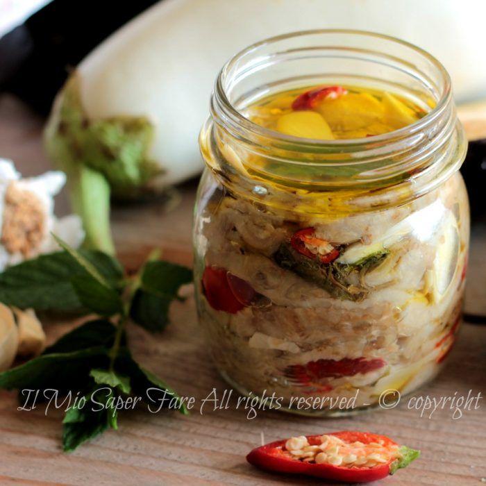 Melanzane sotto olio ricetta facile senza rischi di botulino