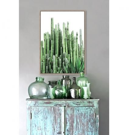 """Emerald City"" Canvas Print | Framed | Preorder"