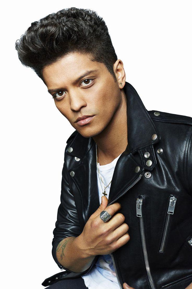Leather Jacket - Bruno Mars Photos  My Bruno Mars-7735