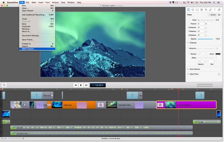 Screenflow- Create Professional Looking Educational Screencasts and Tutorials for Your Class