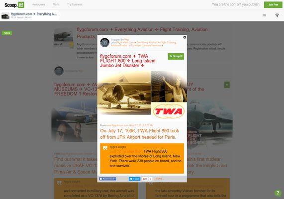 flygcforum.com ✈ TWA FLIGHT 800 ✈ Long Island Jumbo Jet Disaster ✈