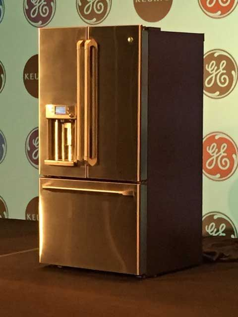 The GE Cafe Series Refrigerator With Keurig K Cup Brewing System Source Katie Bauer WAVE 3
