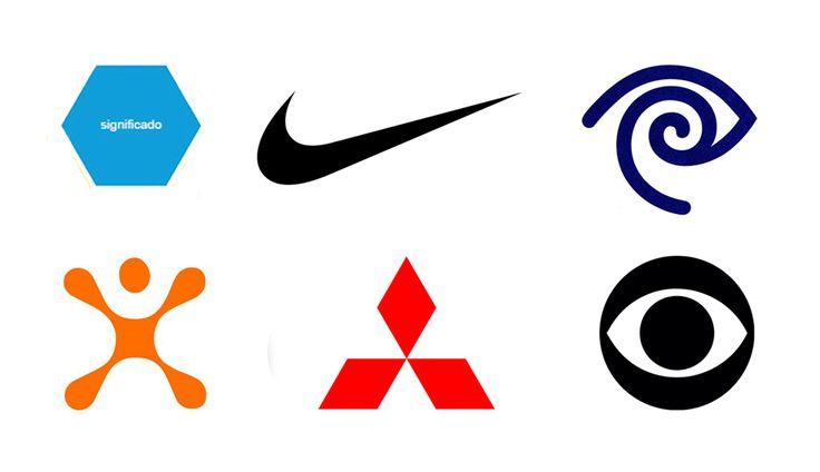 Nike era a deusa da vitória. O logotipo, por Carolyn Davidson, representa a abstração de uma asa. A marca da Time Warner foi desenhada por Steff Geissbuhler. A marca de Cingular, desenhada por VSA Partners, representa a liberdade da expressão humana. A marca Mitsubishi, desenhada por Yataro Iwasaki, é uma prioridade da corporação. Cada losango representa um princípio. O olho da CBS foi inspirado pelo olho pintado nos antigos celeiros para espantar mal olhado. Desenhado por William Golden.