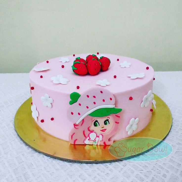 Strawberry Shortcake themed cake