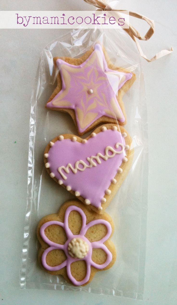 galletas decoradas para dia de la madre - Buscar con Google