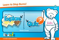 "Learn to stop burns! @ SCHOOL A teaching resource was developed to complement the ""Learn to Stop Burns!"" program, containing suggested teaching and learning activities. The activities allow students to work towards achieving the stage two and stage three outcomes in the Safe living strand of the K-6 Syllabus Personal Development, Health and Physical Education (PDHPE)."