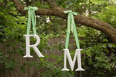 Cute idea for Couples Shower. Easy personal touch.