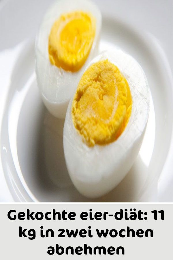 Gekochte eier-diät: 11 kg in zwei wochen abnehmen