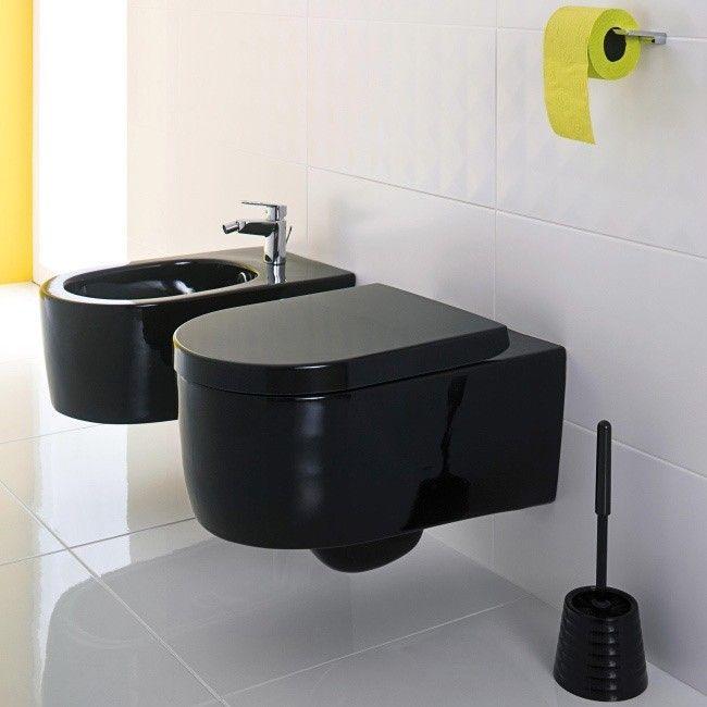 Miska Wc Wiszaca Form Z Deska Czarna Home Decor Decor Sink