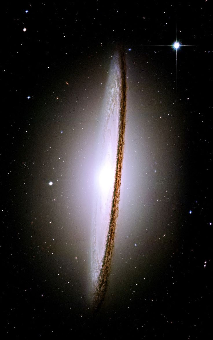 The Sombrero Galaxy - 28 million light years from Earth - was voted the most beautiful picture taken by Hubble Telescope. The dimensions of the galaxy, are as spectacular as it's appearance. It has 800 billion suns and is 50,000 light years across.
