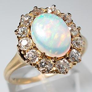 opal ring  #