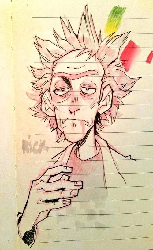 Rick Sanchez discovered by Daniel Solorio on We Heart It