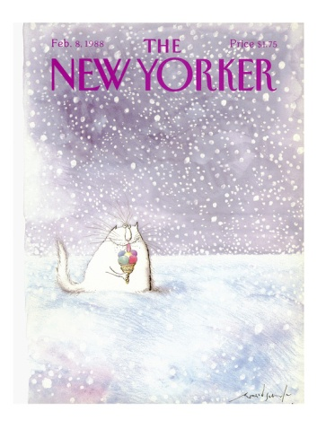 The New Yorker Cover - February 8, 1988 Giclee Print by Ronald Searle at Art.com