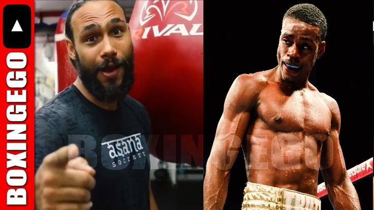 "(ITS REAL!!) ERROL SPENCE 2 KEITH THURMAN ""I BEEN CALLING HIM OUT A LONG..."