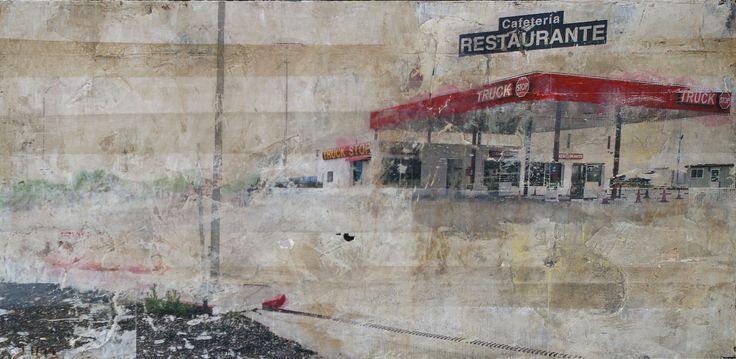 'Truck Stop', 2011, Jonathan Hindson