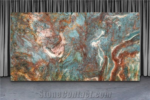 Blue Louise Quartzite Slabs Brazil Blue Quartzite