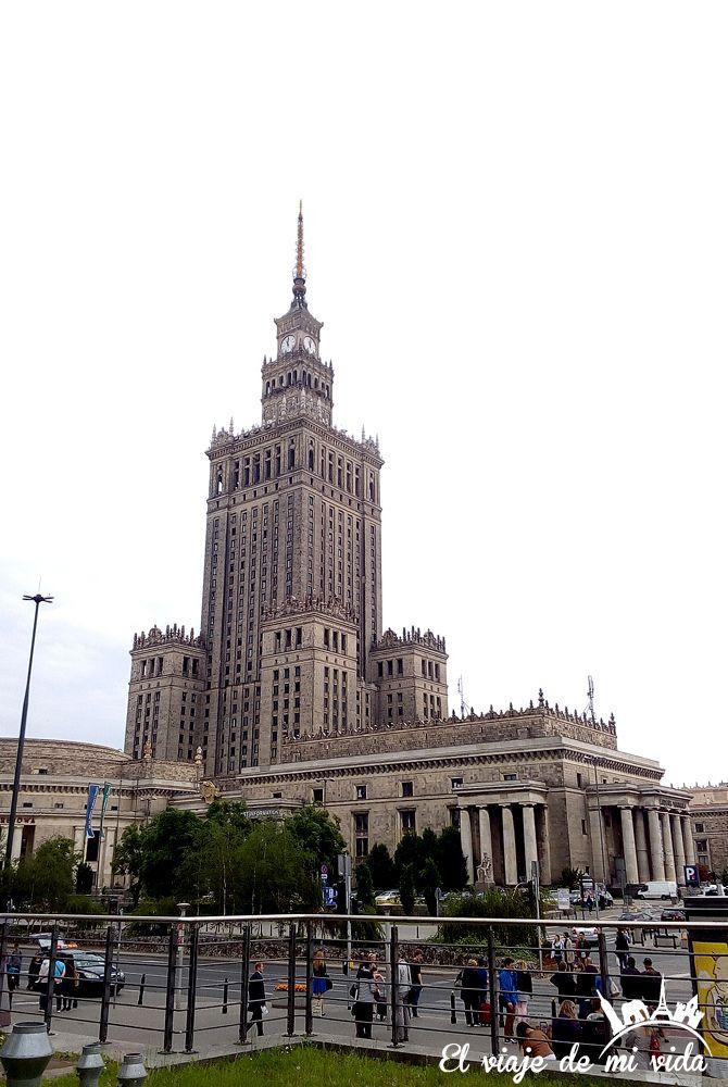Palacio Cultura Ciencias Varsovia Polonia