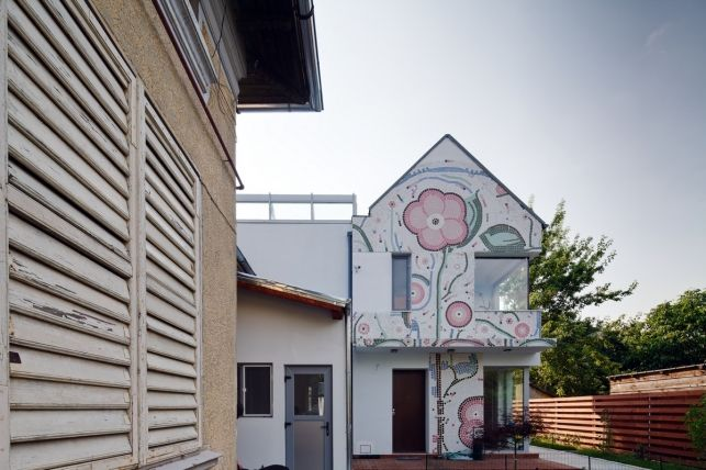 Casa din Bucuresti - arhitectura in armonie cu natura- Inspiratie in amenajarea casei - www.povesteacasei.ro