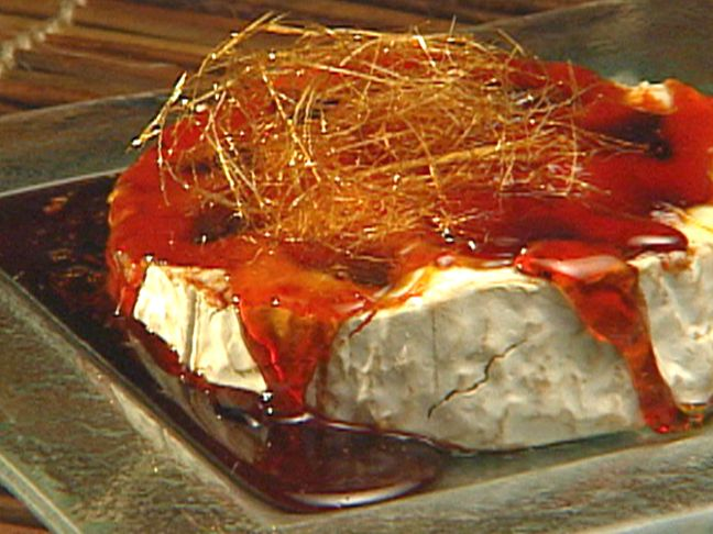 Candied Camembert recipe from George Duran via Food Network