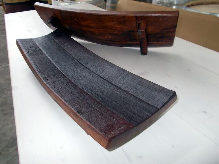 1647 - Centrotavola da doghe di barrique