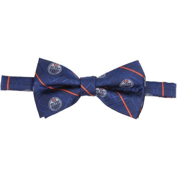 Edmonton Oilers Oxford Bow Tie - Navy - $19.99